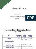 Osciladores de Cuarzo