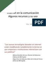 Internet en la comunicación