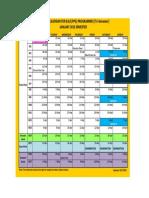 Academic Calendar (B.ed) - Year 2013