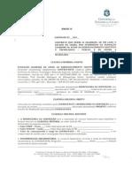 Modelo Contrato FUNCAP