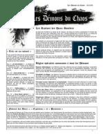 Bande - Les Demons Du Chaos 31-12-09