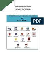 DOC-RECTOR Del PNFen Electricidad -Version 2013