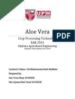 Aloe Vera Assignment