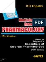 KD Tripathi - MCQs in Pharmacology
