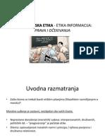 1 Informacijska Etika - Etika Informacija (Uvodna Razmatranja)