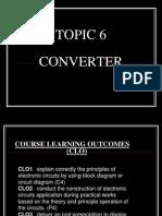 TOPIC 6 - (Converter)