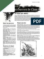 Bande - Les Guerriers Du Chaos 24-02-10