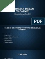 mubareks european dream vacation