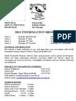 2013 Information Brochure New