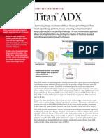 Titan ADX Datasheet