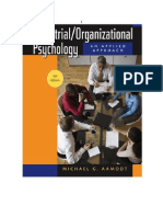 Applied Industrial and Organizational Psychology