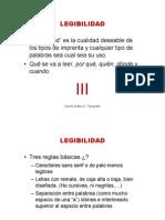 LEGIBILIDAD