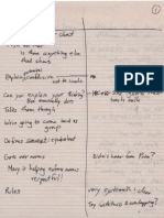 observers notes