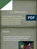 Cv Argolayu