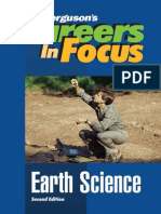 Careers & Focus Earth Science