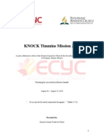 TIMMINS KNOCK Mission Application 2014.