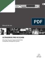 Ultradrive Behringer Dcx2496 p0036 m Es