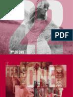 Taylor Swift - 22 [Digital Booklet]
