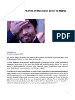 Manny Pacquiao, The BIR, And Taxation's Power to Destroy