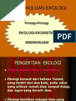 Pendahuluan Ekologi 2012 b Widi