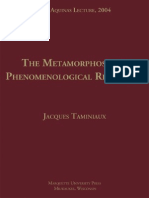 Taminiaux, 'the Metamorphoses of Phenomenological Relation'