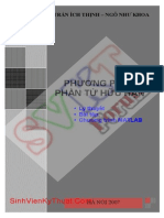 Giaotrinh PPPTHH V10-Finite Element Methods