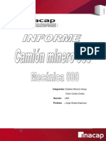 Informe Chasis- Camion Minero 930