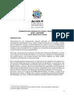 Sistematización de las Jornadas en Quito