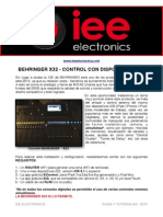 BehringerX32-ControlcondispositivosIOS