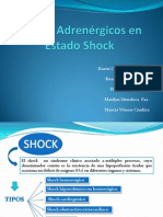 Fármacos adrenérgicos en estado de shock.pptx