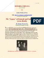 Jimmy Franco Sr l the 'Legacy' of Kennedy Latinos - Myth Versus Reality l LPOV l 11 23 13