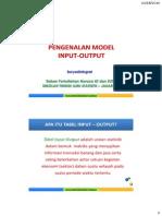 Tabel Input Output