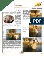 Boletin 105 Informe Misionero Mozambique Julio 2009