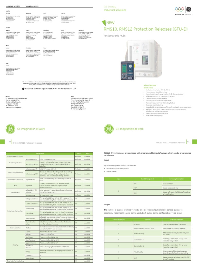 Catalogue Rms 10 Amp 12 Relay Ac Power