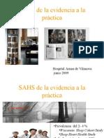 SAHS de la evidencia a la práctica
