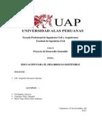 Proyecto Desarrollo Sostenible Final