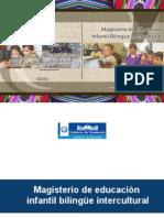 magisterio infantil intracultural