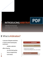 About Arbitration