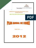 Plan Anual de CONEI.2013