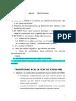 Notas TDAH