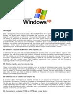 Dicas Windows XP Parte 1 e 2