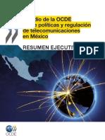 Estudio Ocde Politicas y Regulacion Telecom Mexico