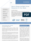 Datacenter Virtualization is a positive evolutionary step in providing data centre as a service, driving consolidation of infrastructure resources to maximize utilization and power savings,                               as well as to simplify management, continuity, recovery and maintenanceFulcolo.net - How to Choose a Right VDC