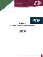 Unidad 4. Etapas Economicas de La Empresa