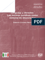 Libro Enrique Caceres Nieto Lenguaje y Derecho