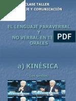 El Lenguaje No Verbal...