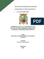Y.Vílchez, Aproximación a la novelística de Manuel Scorza, Redoble por Rancas.vilchez_by