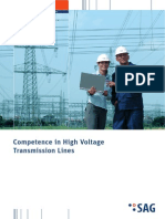 Competence in High Voltage Transmission Line