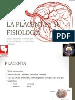 La Placenta y Su Fisiologia