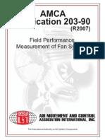 AMCA Publication 203 R2007